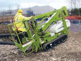 Nifty TD120T 12.2m Track Drive - compact base - outstanding traction - picture2' - Click to enlarge
