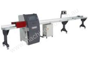 Programmable automatic docking saw
