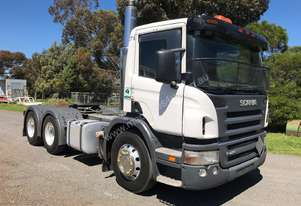 2008 Scania P420 Prime Mover - Fuel Spec