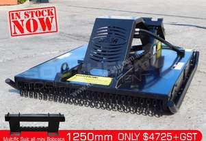 1250mm Slasher / Brush Cutter skid steer pick-up