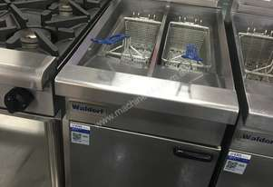 Waldorf Twin Pan Gas Deep Fryer FN8226G