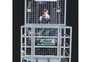 NEW 250kg forklift safety man cage / work platform. FREE delivery (flat packed)
