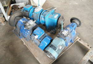 variable speed  geared motors