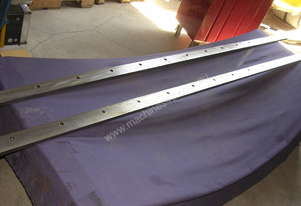 JOHN HEINE, Metal Shearing Guillotine Blades.8 ft.