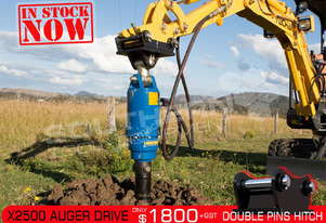 X2500 Auger Drive Unit. Suit 1.5-3.0 Ton Excavators ATTAGT