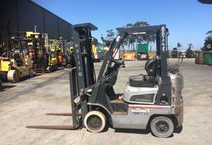 Good condition counterbalance forklift