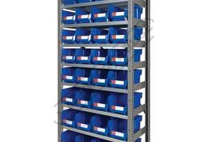 MSR-32 Industrial Modular Storage Shelving Package Deal 943 x 465.4 x 2030mm Includes 32 x BK-210 Pl