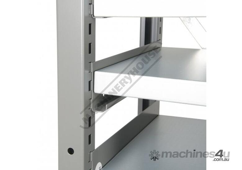 MSR-32 Industrial Modular Shelving Package Deal 943 x 465.4 x 2030mm Includes 32 x BK-210 Plastic Bu