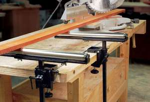 Carbatec Roller Stand with Universal Clamp
