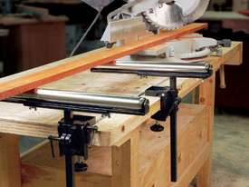 Carbatec Roller Stand with Universal Clamp - picture2' - Click to enlarge