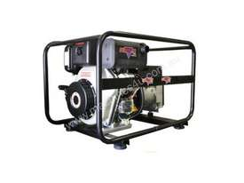 Dunlite 3 Phase 6.8kVA Diesel Yanmar Powered Generator with Elec Start - picture2' - Click to enlarge