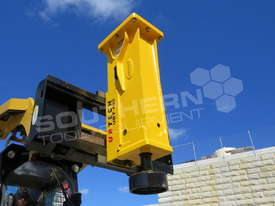 UBT40S Tractor Front End Loader Silence Hydraulic Post Driving Hammer ATTUBT - picture1' - Click to enlarge