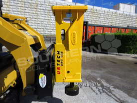 UBT40S Tractor Front End Loader Silence Hydraulic Post Driving Hammer ATTUBT - picture3' - Click to enlarge