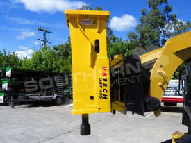 UBT40S Tractor Front End Loader Silence Hydraulic Post Driving Hammer ATTUBT - picture8' - Click to enlarge