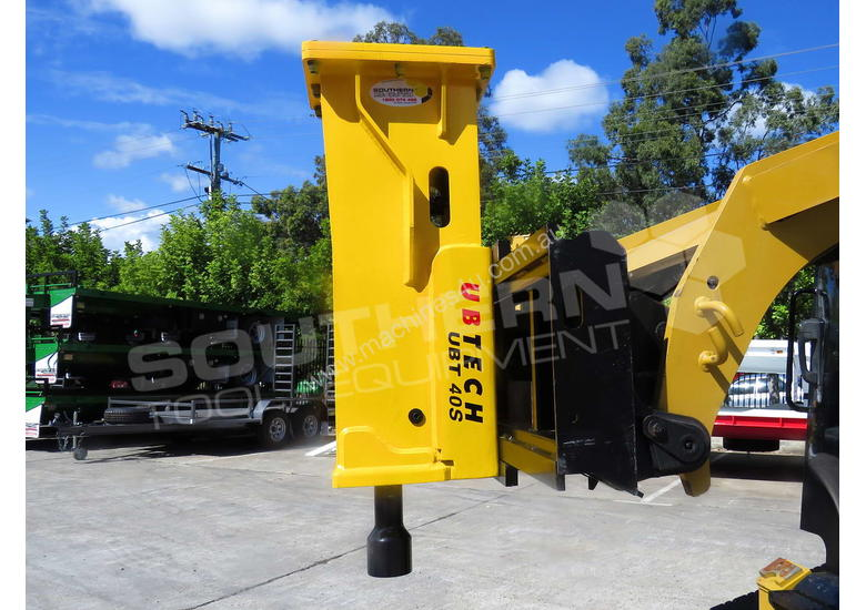 UBT40S Tractor Front End Loader Silence Hydraulic Post Driving Hammer ATTUBT