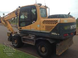 Hyundai R140W-9 Wheeled Excavator, 14ton - picture1' - Click to enlarge