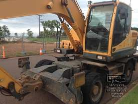 Hyundai R140W-9 Wheeled Excavator, 14ton - picture2' - Click to enlarge