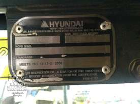 Hyundai R140W-9 Wheeled Excavator, 14ton - picture7' - Click to enlarge