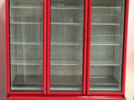 USED ORFORD 3 DOOR UPRIGHT FRIDGE MODEL : BM 45E-C - picture1' - Click to enlarge