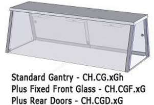 Culinaire CH.CGD.3G 3 Bay Gantry Sliding Glass Doors