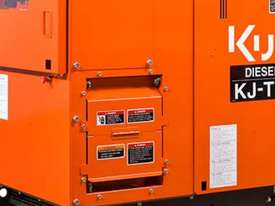 Kubota KJ-T130DX Diesel Generator - picture1' - Click to enlarge