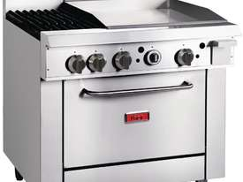 Thor GE543-N - Gas Oven Ranges with 2 Burners & 600mm Griddle Natural Gas - picture1' - Click to enlarge