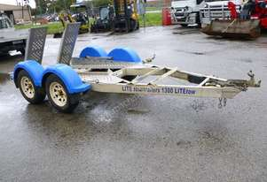 2011 Lite Tow Tandem Axle Plant Trailer IN AUCTION
