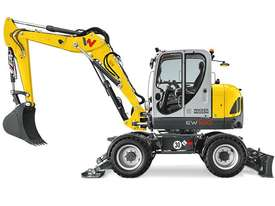 EW100 Wheeled Excavator - picture3' - Click to enlarge