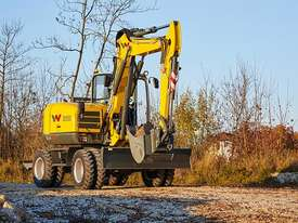 EW100 Wheeled Excavator - picture2' - Click to enlarge