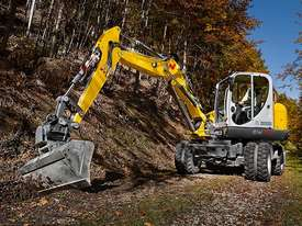 EW100 Wheeled Excavator - picture0' - Click to enlarge