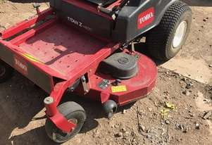 Toro Titan ZX4800 Zero Turn Lawn Equipment