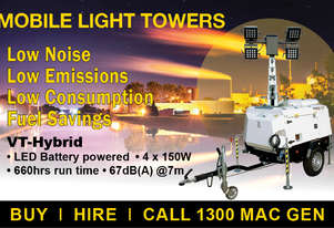 Pramac VT-Hybrid Light Tower