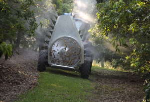 Tree sprayer for tropical fruit
