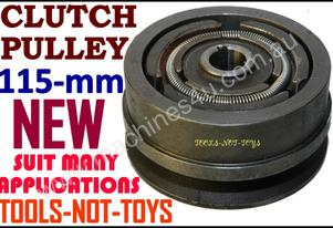 Clutch Pulley 115mm X 19mm Bore V-BELT = NEW*