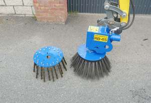 SLANETRAC RB80 EXCAVATOR BROOM SWEEPER