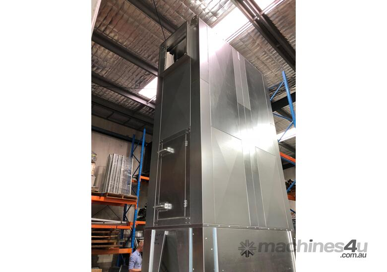 Australian Dust and Fume Control dust extraction unit. ASF1 DXLK. 15kw. Up to 10,000 m3/hr