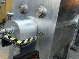 S/Steel Z Arm Mixer with Auger Discharge - picture3' - Click to enlarge
