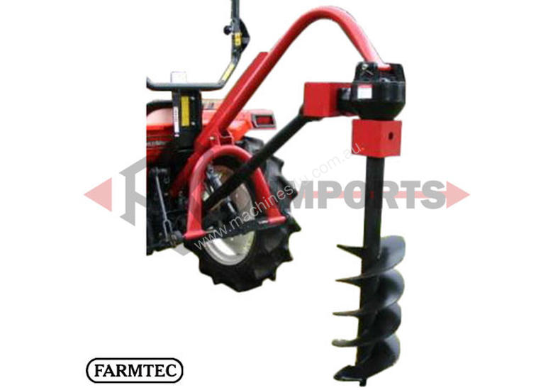POST HOLE DIGGER 50HP ROUND FRAME PTO