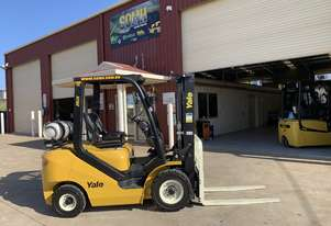 New Yale 2.5 tonne LPG Powered Forklift