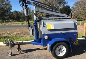 Lighting Tower 2012 with 2312 hours and full mine spec with LED conversion