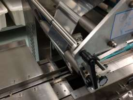 Flamingo Stainless Steel Horizontal Flow Wrapper Packing Machine + Anser U2 Pro-S label/date printer - picture2' - Click to enlarge