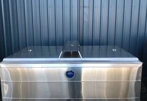 1,150ltr Jacketed Stainless Steel Tank, Milk Vat
