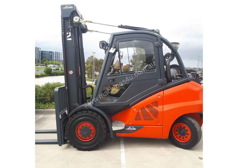 Used Forklift:  H45T Genuine Preowned Linde 4.5t