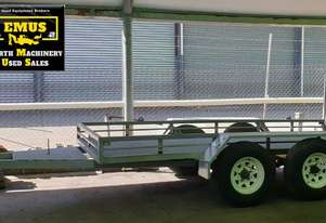 6mtr Plant Trailer with ramps