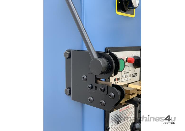 Quality 400mm THroat Taiwanese Vertical Bandsaw With Onboard Blade Welder, Grinder