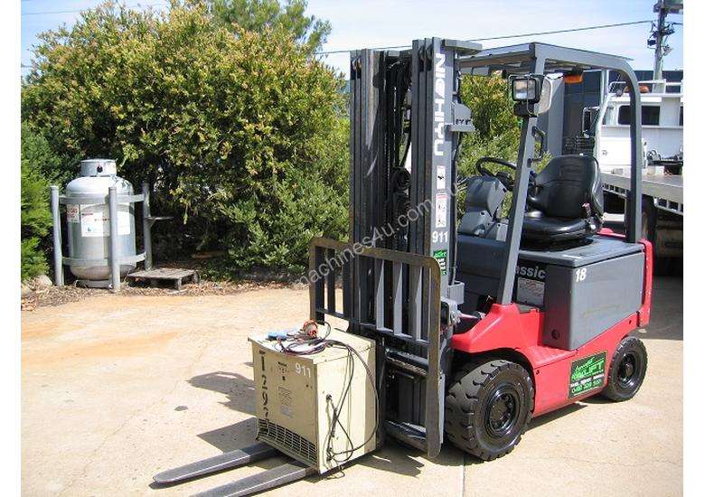 Nichiyu 1.8T Battery/Electric Forklift