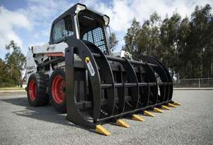 Himac Skid Steer Claw Grapple