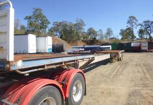 Custom Made Custom Semi Flat top Trailer