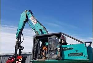 Kobelco SK250 with Waratah 23C harvester head
