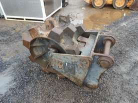 Oz Compaction Wheel to suit 30 Ton Excavator - picture1' - Click to enlarge